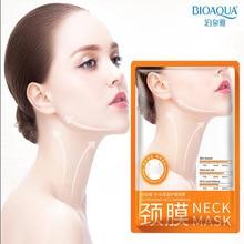 10 Pcs BIOAQUA Neck Mask Anti Aging Firming Neck Whitening L