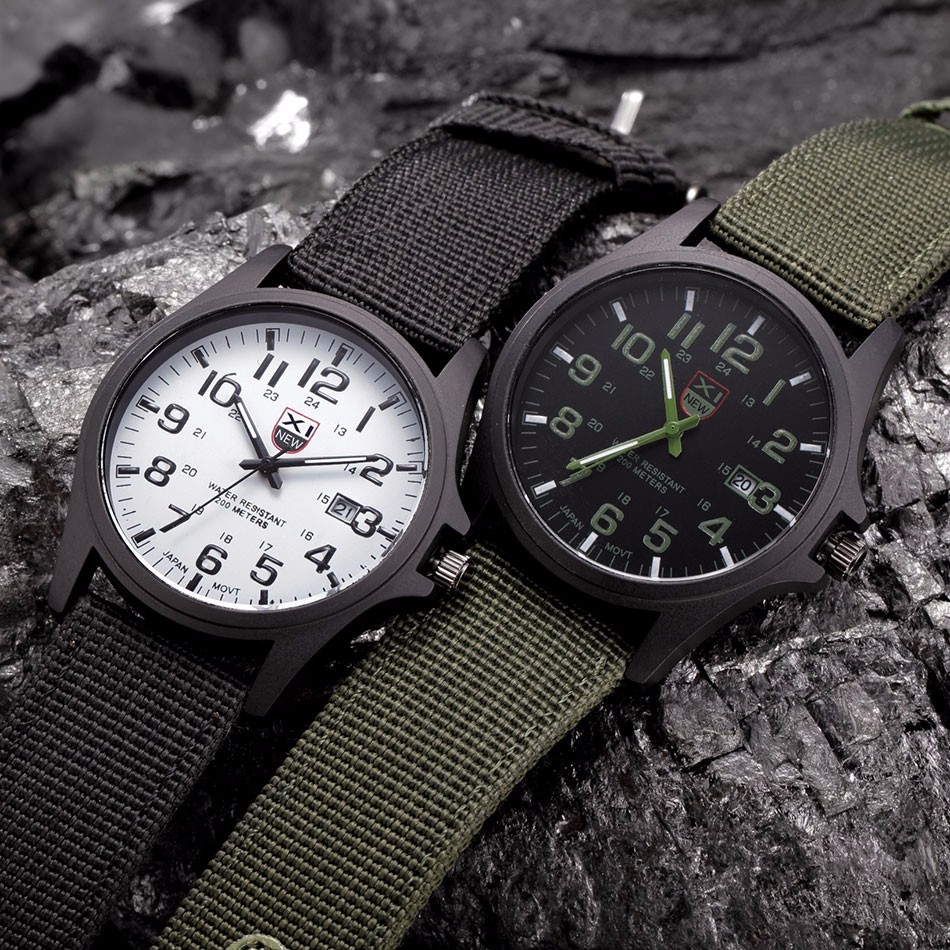 Xinew Men Army Military Sport Watch