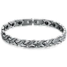 Fashion Jewelry New Personality Energy Balance Bracelets Trendy Magnet Stone 20cm font b Health b font