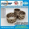 JDB658050/658060/658070/658080 графитовые медные подшипники  MPBZ65-25/30/40/50/60/70/80/90 без масла втулки CuZn24A16