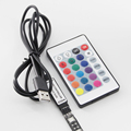 USB Led Controller 24 Keys IR RGB Controler LED Light IR Remote Controller Dimmer DC 5V For RGB SMD 2835 3528 5050 LED Strip
