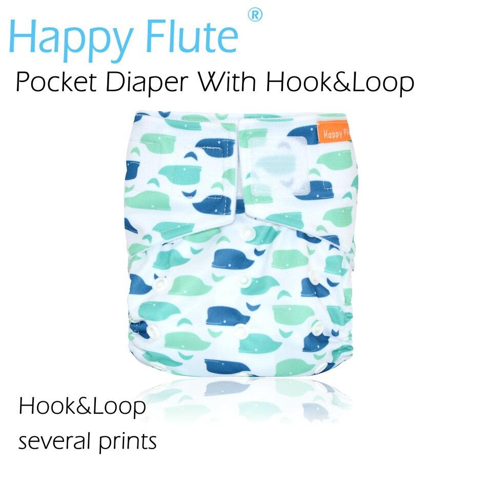 (12pcs / lot) Happy Flute OS Pañal de tela de bolsillo, con tela de - Pañales y entrenamiento para ir al baño - foto 2