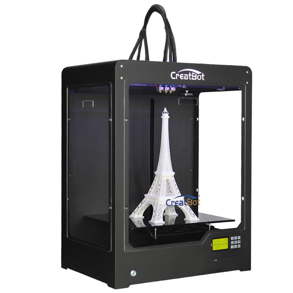 DEPlus03 Large Build Size 400 300 520 mm Triple Extruder Metal Frame font b Printer b