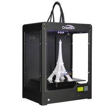 Membangun DEPlus03 Besar Ukuran 400*300*520mm Tiga Bingkai Logam Printer 3d CreatBot 2 KG Filamen Extruder PLA ABS 3.0mm