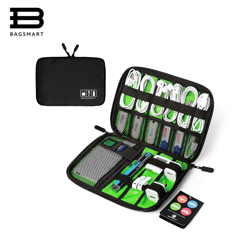 New Data Cable Practical Earphone Wire Storage Bag Power Line Organizer USB Flash Disk Case Digital Accessories Finishing Bag