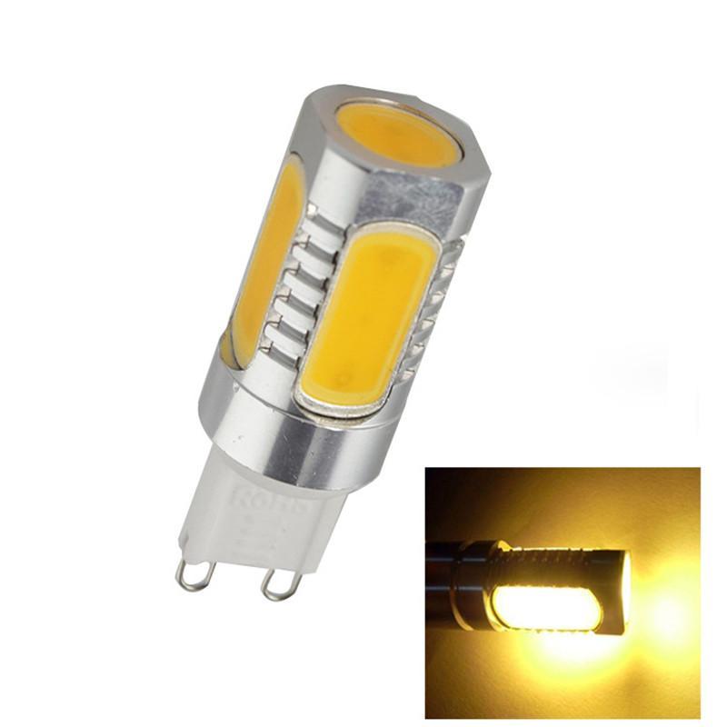 220V <font><b>G9</b></font> 8W SMD <font><b>LED</b></font> <font><b>COB</b></font> Bulb Energy Saving 700LM Warm/Cool White Lighting Lamp