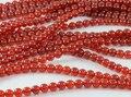 Alta Calidad 100% Natural Rojo Carnelian de la Ágata Onyx AA 4,6, 8,10, 12mm. Smooth Ronda Cuentas de Piedras Naturales Para la joyería 1 cadena