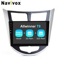 Navivox 8 Core 9 2din Android7 1 2 Ram2 32GB Car Stereo Audio GPS Navigation Player