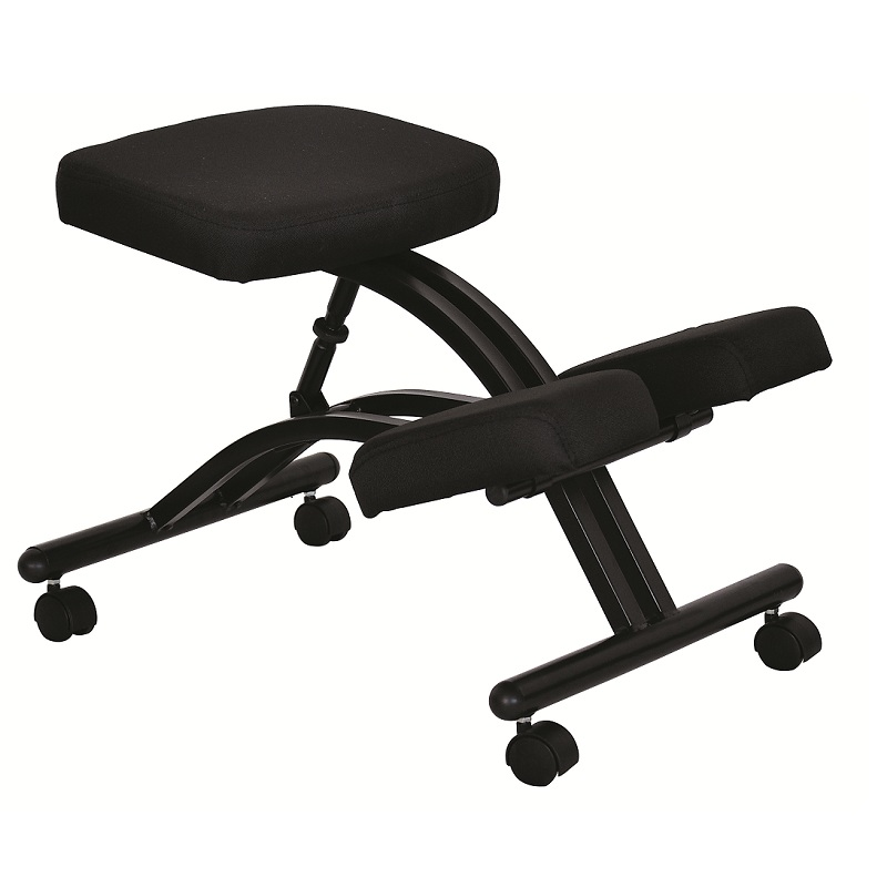 Ergonomically Designed Knee Chair with Casters and Memory Foam Office Kneeling Chair Ergonomic Adjustable Stool Office Furniture 240337 ergonomic chair quality pu wheel household office chair computer chair 3d thick cushion high breathable mesh