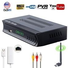 Koqit Receptor DVB S2 FTA Satellite TV Receiver HD TV tuner Iptv Combo Player Cline IKS