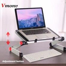Vmonv 360 Portable Folding Desk Bed Tafel Stand Ergonomische Notebook Laptop Stand Houder voor 11 17 Inch Lenovo Dell acer Macbook