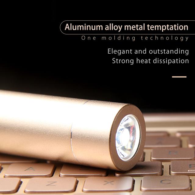 2600 mAh Aluminum External Power Bank
