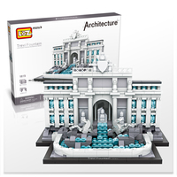 LOZ Diamond Building Blocks The World Famous Building Model Guggenheim Museum Sungnyemun The White House Trevi