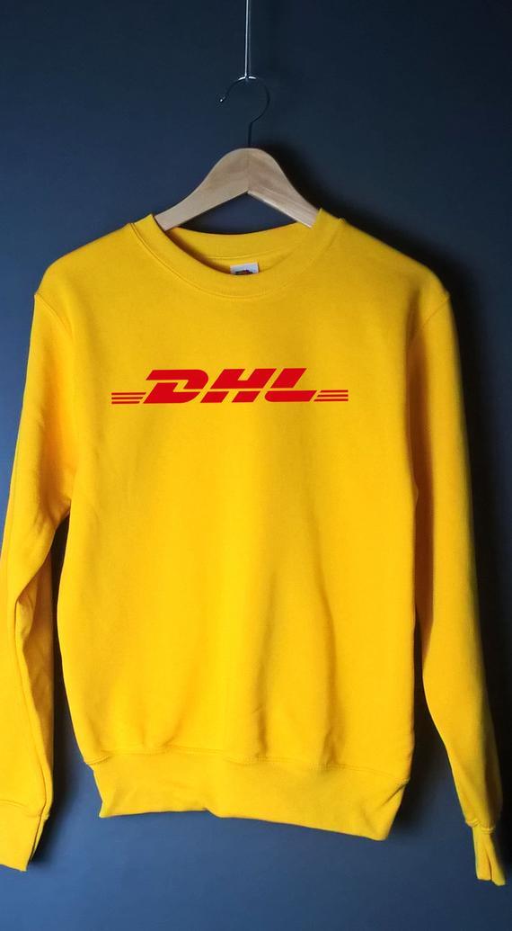 Sugarbaby DHL Yellow Jumper Sweatshirt Hoodie Unisex Fashion Grunge 90s Casual Tops Long Sleeve DHL Tumblr Tops Drop Ship