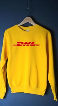 Sugarbaby DHL Yellow Jumper Sweatshirt Hoodie Unisex Fashion Grunge 90s Casual Tops Long Sleeve Tumblr Drop ship