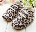 Nuevos zapatos del bebé prewalkers babyshoes Primeros Caminante zapatos recién nacidos zapatos infantiles estampado de leopardo