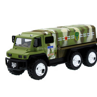 Alloy Army Green Toy Model Truck Toy 1 32 Pull Back Sound And Light Openable Doors