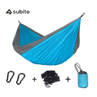 LUCKSTONE Double Hammock Outdoor Camping Portable Hammock Sleeping Bags Amazom Underquilt Outdoor Travel Single Hammocks