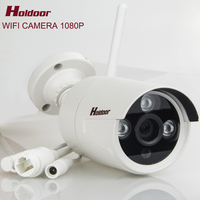 IP66 Waterproof Outdoor IPC Wireless IP Camera 2MP IR 20M Built In WIFI SD Card Slot