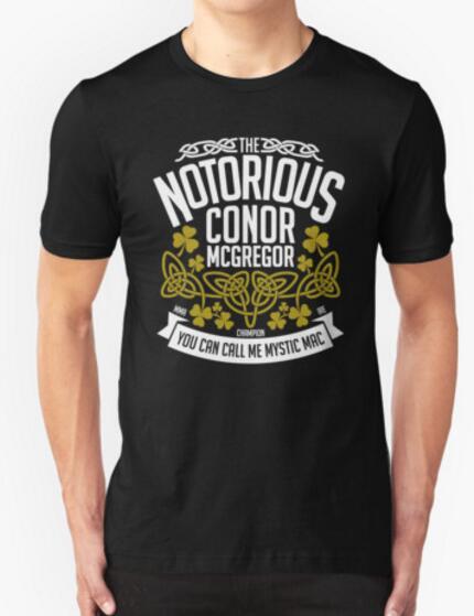 ᗑ Conor McGregor personalizada projeto original da crista 2016 ... d199a414be7b9