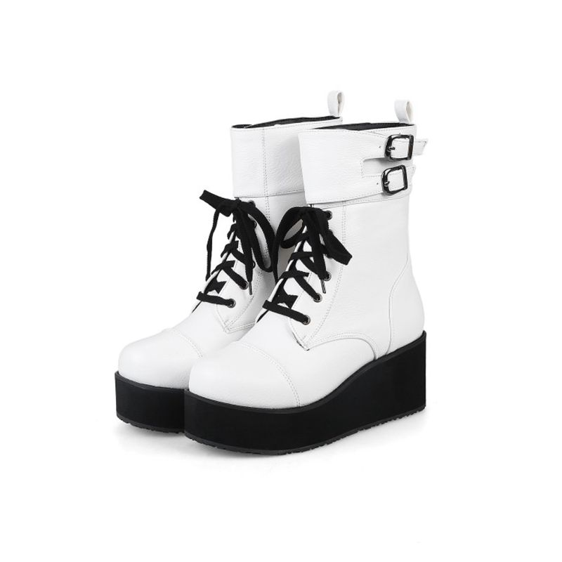 e0cf25f108c QPLYXCO 2017 New super Big small Size 30-48 Patent Leather high Boots shoes  Ladys over the knee high Boots High quality 5203-6USD 55.12-63.60 pair