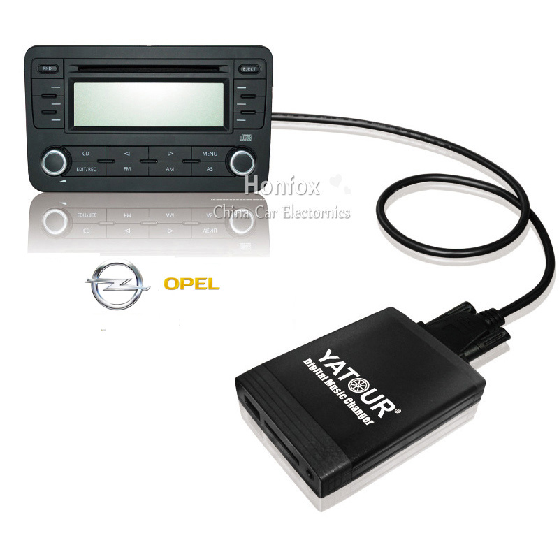 Yatour For Opel Antara Astra H Astra J Corsa D Combo B YT-M06 Car USB MP3  SD AUX adapter Digital CD Changer interface car usb sd aux adapter digital music changer mp3 converter for skoda octavia 2007 2011 fits select oem radios