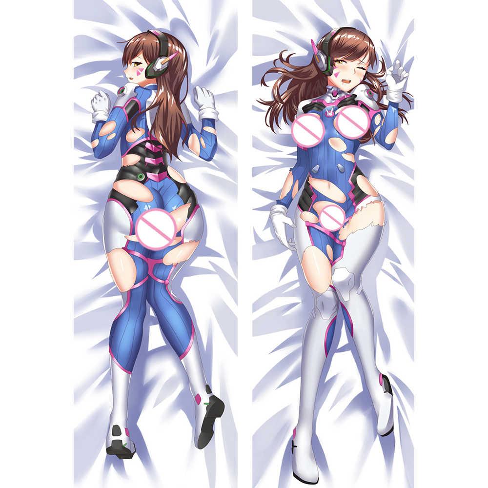 Anime JK Game D.Va hana Song Cute Girl Dakimakura Cosplay