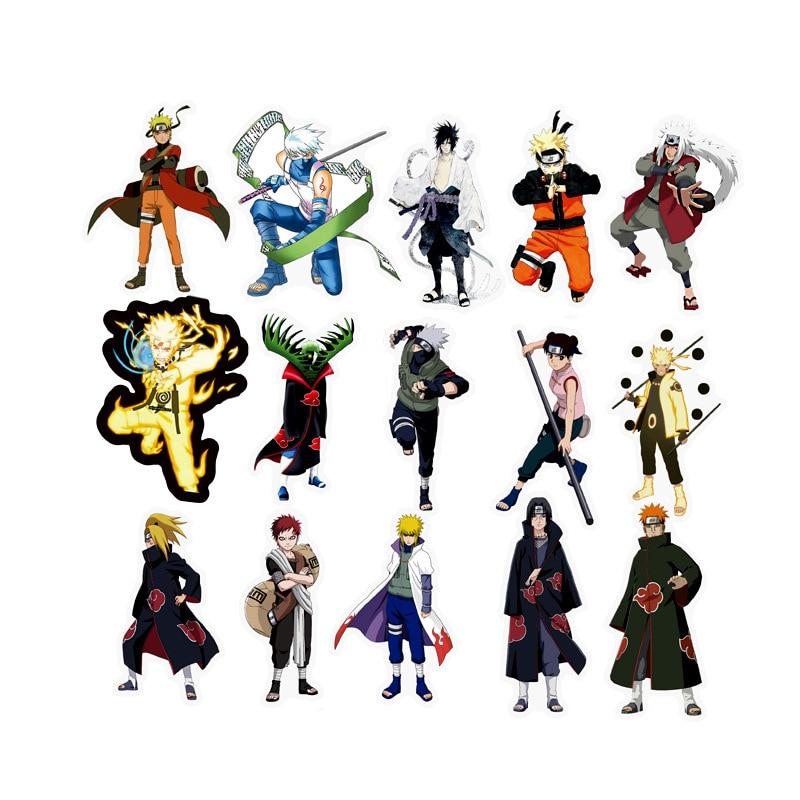 49 pcs set japan anime sticker hatake kakashi