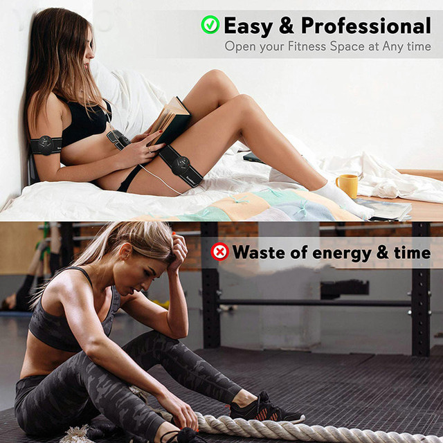 EMS Muscle Stimulation Trainer Wireless Electric Smart Fitness Abdominal Training Weight Loss Stickers No Retail Box 1