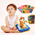 11 Style Activity Book English Language Fabric Cloth Baby Books Learning Education Baby Toys 0~12 Months Juguetes Bebe