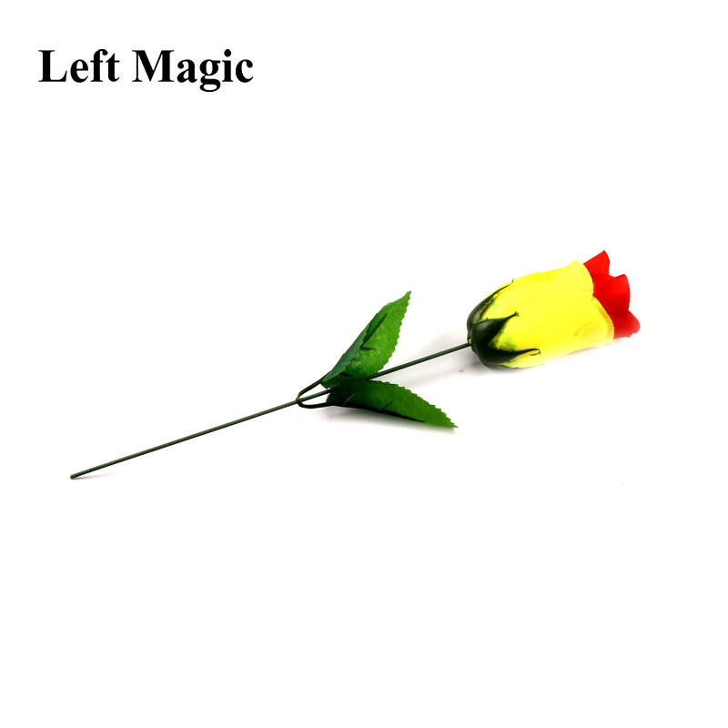 Discoloration Roses (Red Change Yellow) Rose Magic Tricks Change Valentine 'S Day Color Roses Flower Magic Trick Fun Toys