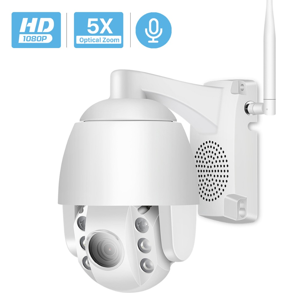 Super Mini 2 5 Inch PTZ Speed Dome WIFI IP Camera 1080P Outdoor 5X Zoom 4mm