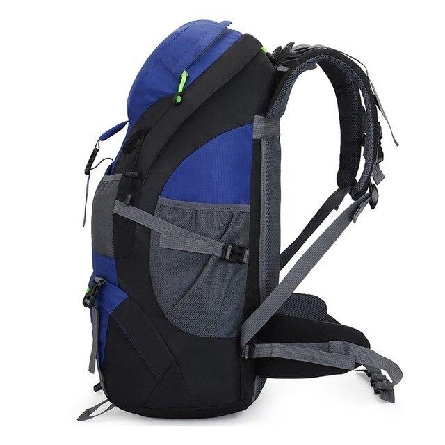 50L Backpack Hiking Waterproof Trekking Bag Outdoor Travel 3