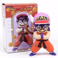 Dr. Slump Arale Cosplay Anime Cartoon Dragon Ball Z Son Goku Krilin Divertido PVC Figura de Colección Modelo de Juguete 17 ~ 19 m 2 Estilos