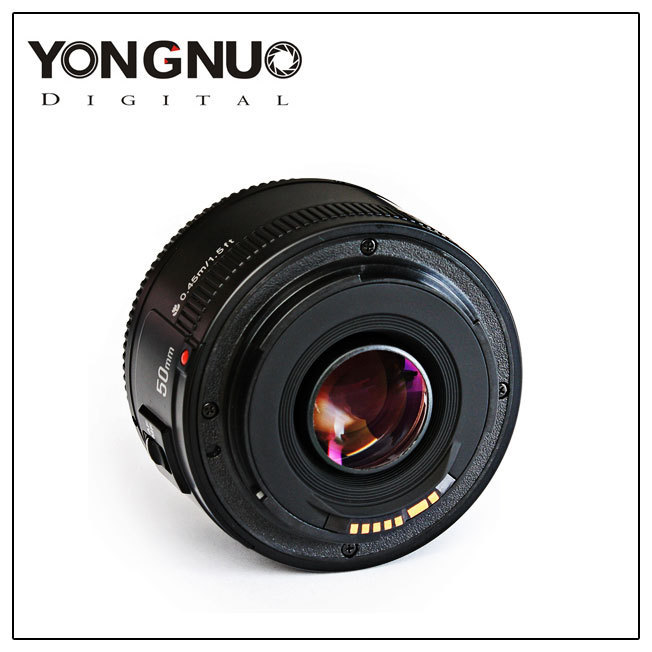 <font><b>50</b></font> <font><b>Mm</b></font> F 1.8 Camera Len Large Aperture AF Fixed Focus SLR Portrait <font><b>Lens</b></font> for Canon image