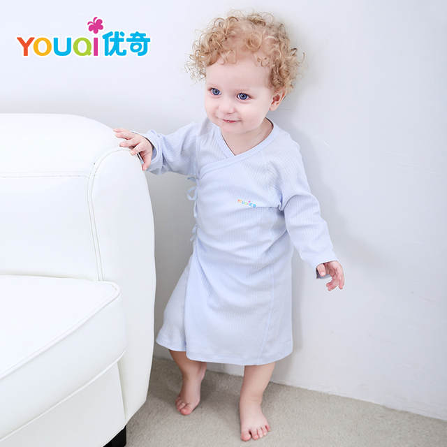 Online Shop YOUQI Unisex Baby Robes Baby Boy Pajamas Cute Girl Sleep Gown  Autumn Toddler Pyjamas Infant Sleeper Clothing Baby Robe Clothes  deefe59e4