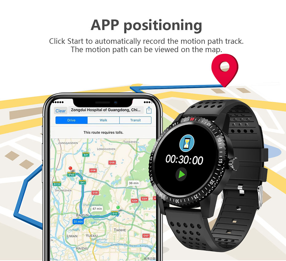 COLMI Smartwatch IP67 Waterproof Wearable Device Heart Rate Monitor Color Display Smart Watch For Android IOS_04