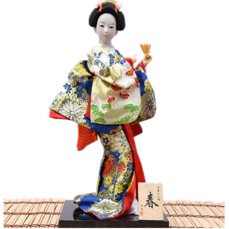 Japanese Geisha Wallpaper   WallpaperSafari WallpaperSafari        cm Beautiful Japan Geisha craifts vintage home decor Hand made Geisha  Figurines Special gifts for