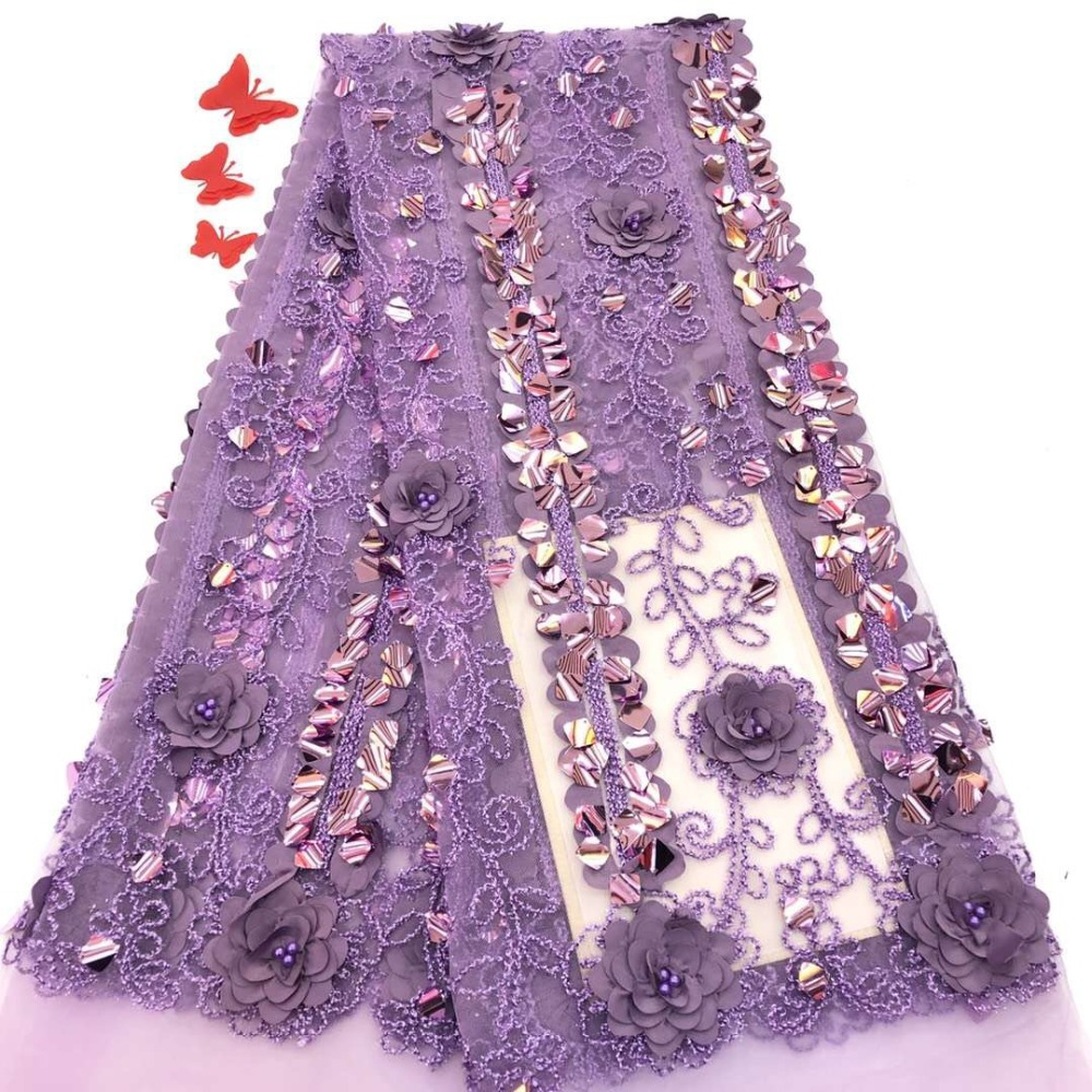 Nigerian French Lace Fabrics 2019 African Tulle Lace Fabric High Quality African Lace Wedding Fabric For DressNigerian French Lace Fabrics 2019 African Tulle Lace Fabric High Quality African Lace Wedding Fabric For Dress