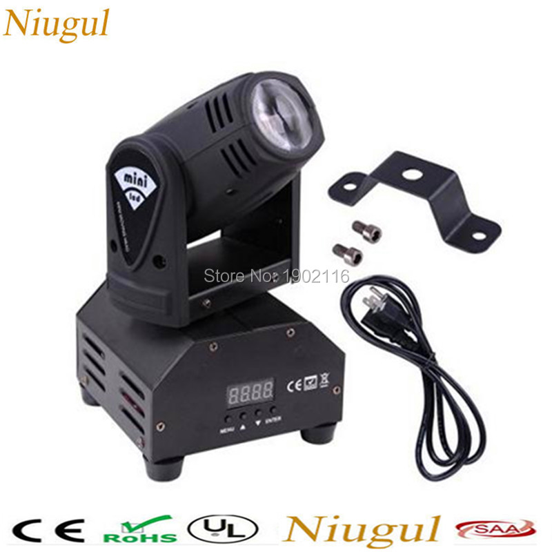 Best quality 10W RGBW mini led moving head light /10W disco dj lights/led lamps/4IN1 LED beam chandelier/DMX512 effect lighting