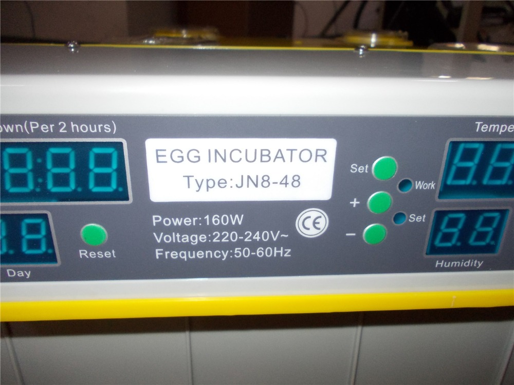 Home and farm 48 egg incubator for  chicken duck goose egg automatic incubator control hatching  temperature запонка kenzo стальные запонки 7011457 16 02 000