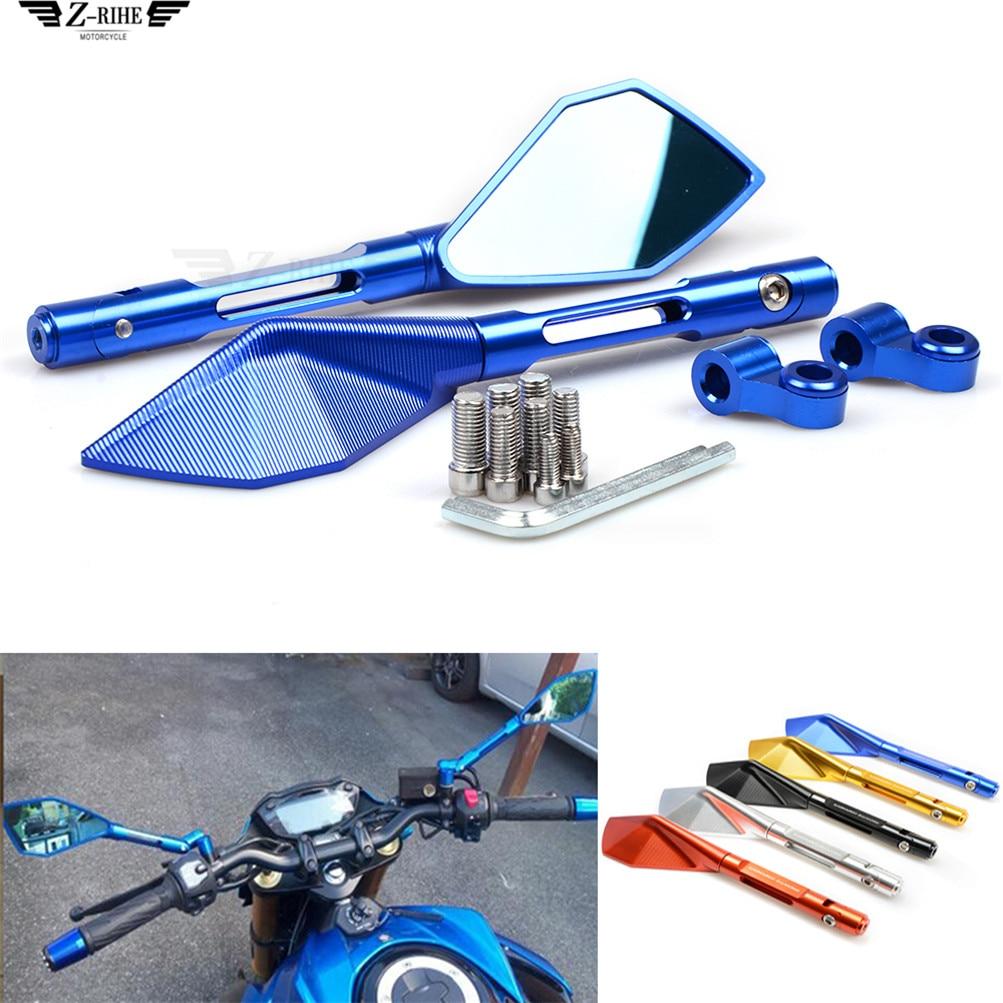 Rétroviseur moto accessoires moto kit pour HONDA CB919 CBR 600 F2 F3 F4 F4i CBR900RR NC700 S X VTX1300