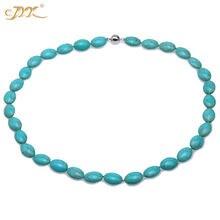 Ожерелье jyx 2019 женское элегантное бирюзовое ожерелье с зелеными