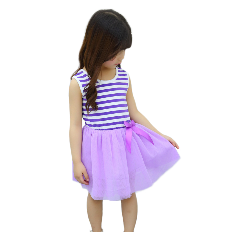 Kids Dresses For Girls Summer Tulle Princess Dress Teenage Girl Costume Children Party Dress Sleeveless Dresses For Teenagers