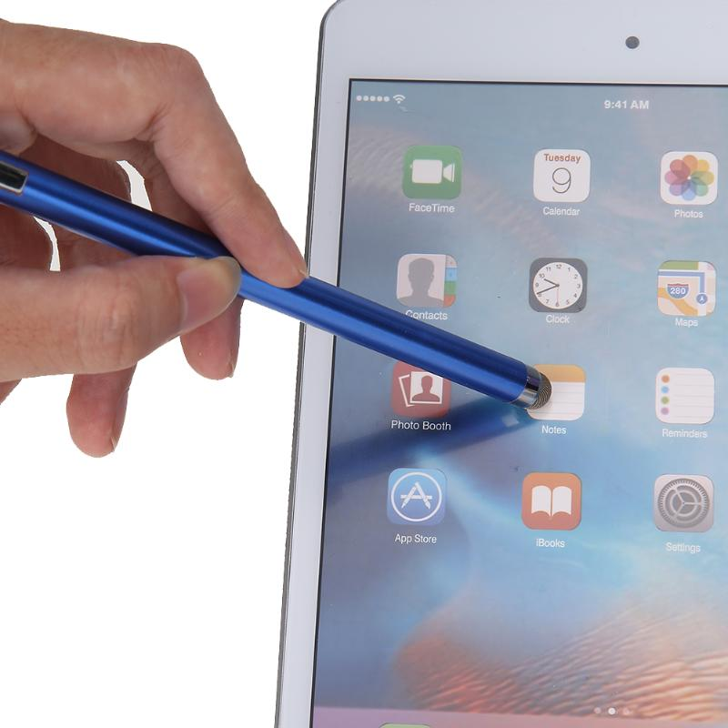 Mini Metal Micro-Fiber Capacitive Touch Pen Stylus Screen For Phone Tablet PC Laptop/ capacitive touch screen devices for iPad
