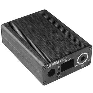 Image 3 - Obudowa stop aluminium shell dla HAKKO T12 jednostka elektryczna cyfrowa stacja lutownicza zestawy regulatorów temperatury