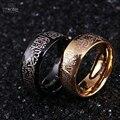 8 MM Aço Inoxidável Allah Árabe Aqeeq Shahada Islâmica Anéis Banda Deus Muhammad Alcorão Muçulmano Do Oriente Médio A um Amante Anéis