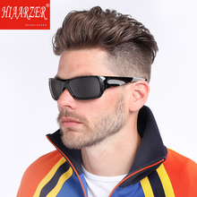 Men's Sports Polarized Sunglasses Outdoor Luxury Brand Male Goggle UV400 Sun Glasses High Quality Driving Eyewear With Case 9015 aluminum luxury brand polarized sunglasses men sports sun glasses driving mirror high quality eyewear male accessories with box
