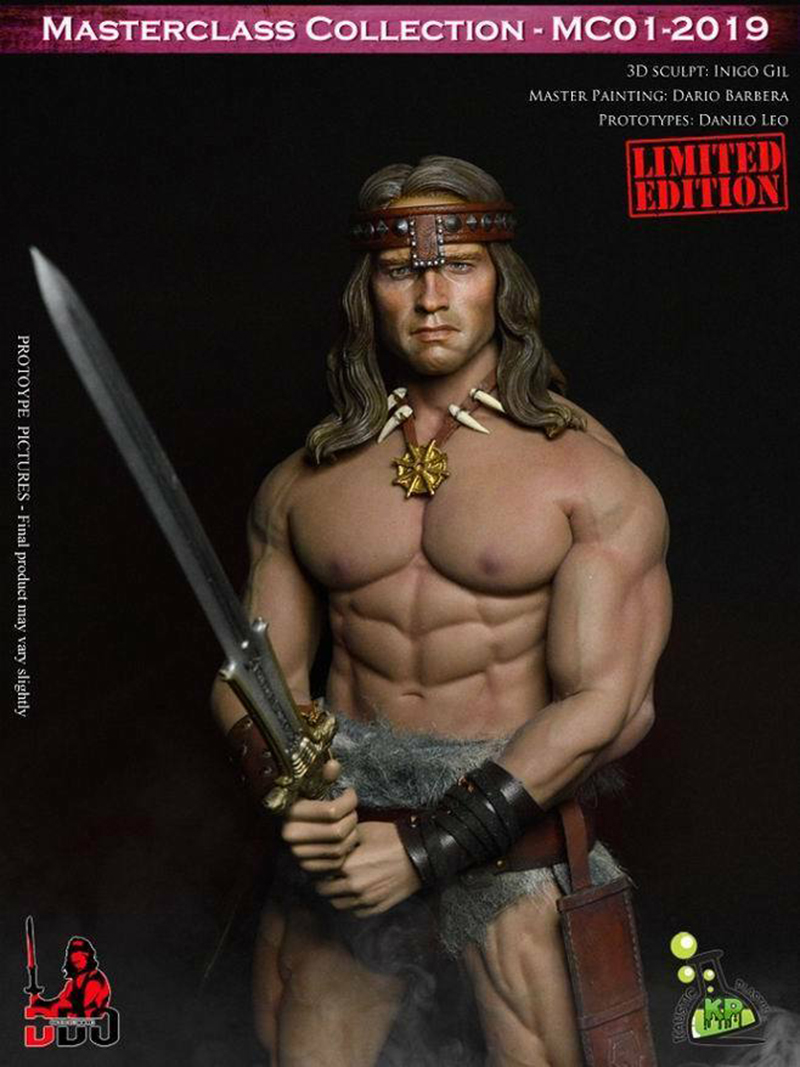 Kaustic Plastik MC01 1//6 Barbarian Conan Arno Pendant Fit TBLeague M34//35 Body