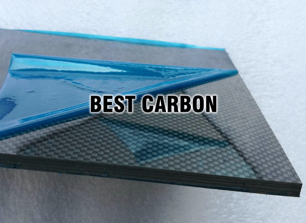 6.0mm x 200mm x 300mm 100% Carbon Fiber Plate, rigid plate , car board , rc plane plate tator rc 3k carbon fiber plate 3 5mm tl2900